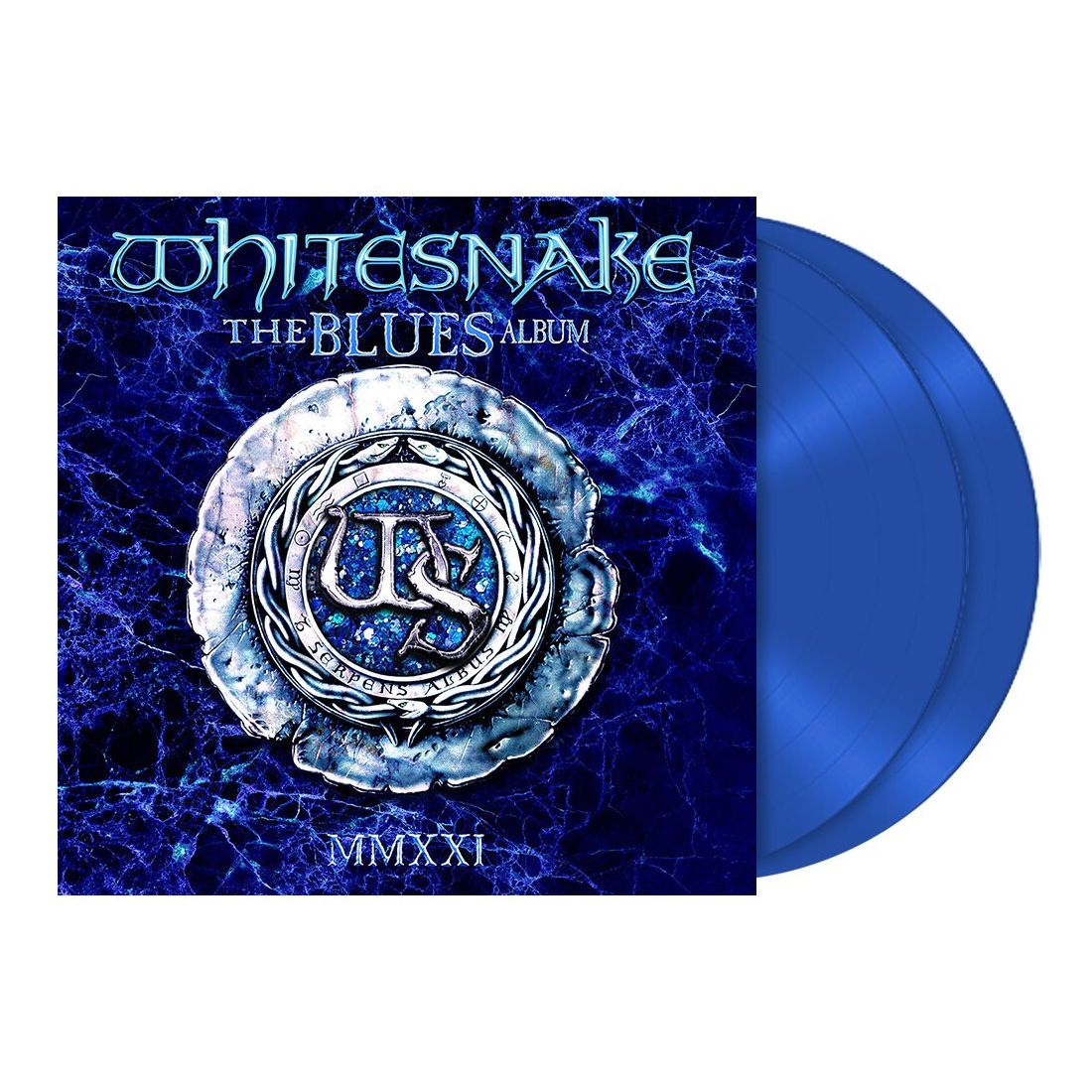 Whitesnake - The Blues Album Limited Edition 2LP Blue Vinyl