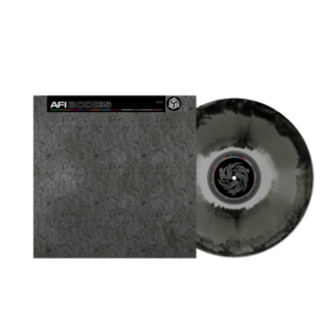AFI - Bodies Limited Edition RSD Stores Exclusive Silver, Black and Black Ice Coloured Vinyl 1000 Made