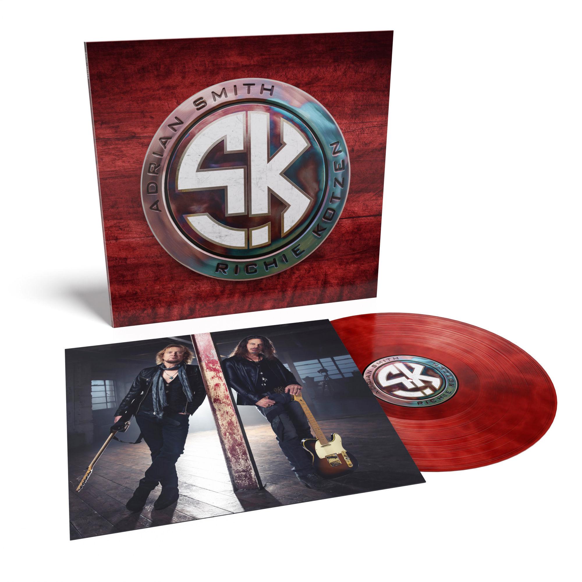 Adrian Smith + Richie Kotzen - Smith/Kotzen Limited Edition Red + Black Smoke Vinyl