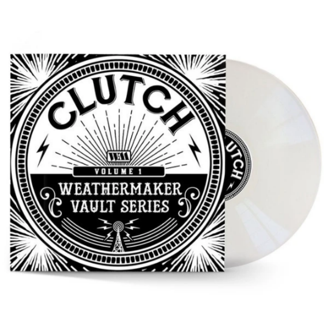 Clutch - The Weathermaker Vault Series Vol.1 Limited Edition White Vinyl