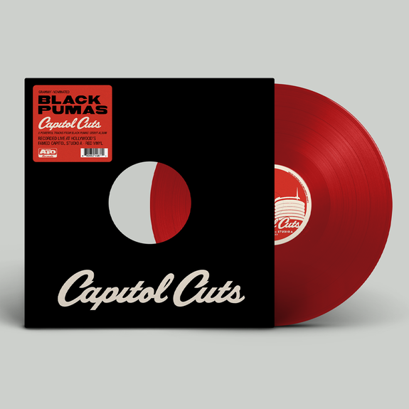 Black Pumas - Capitol Cuts Limited Edition Red Vinyl