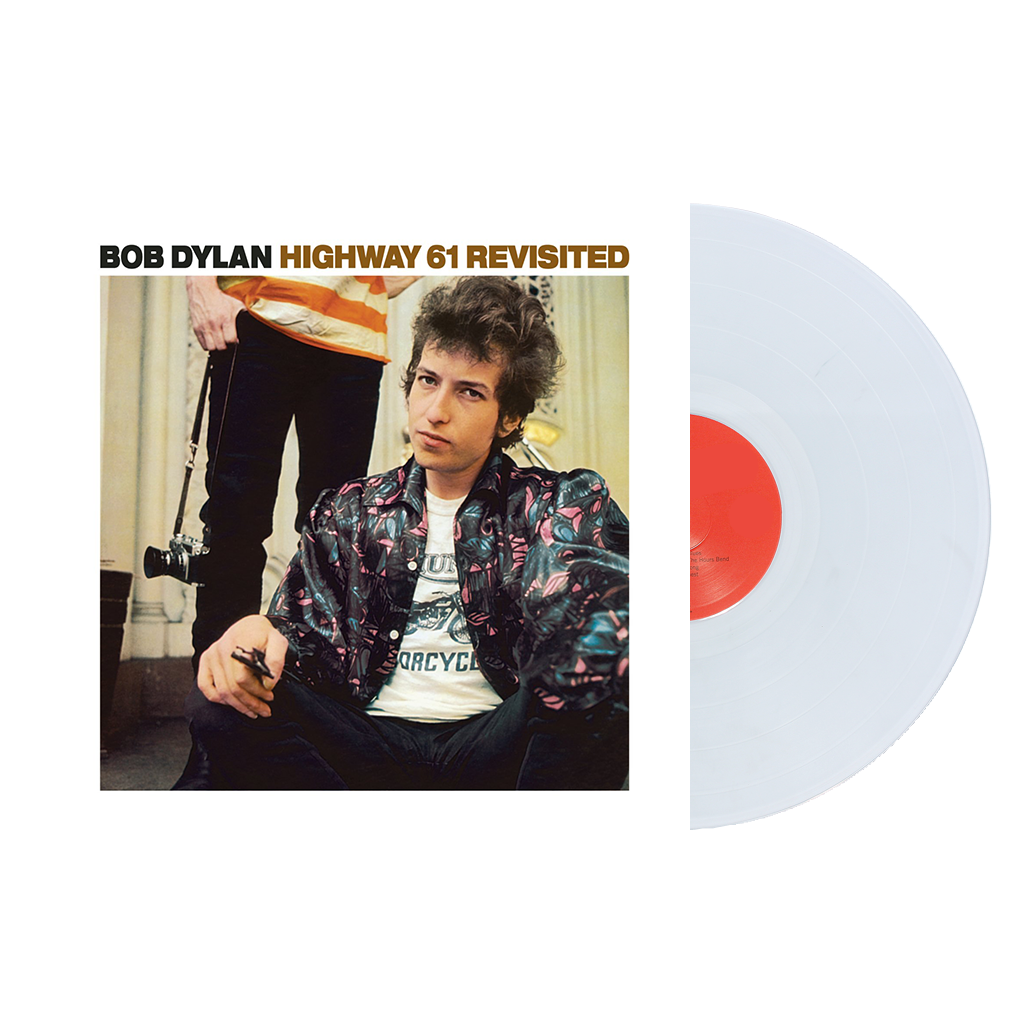 Bob Dylan - Highway 61 Revisited Limited Edition Ultra Clear Transparent Vinyl