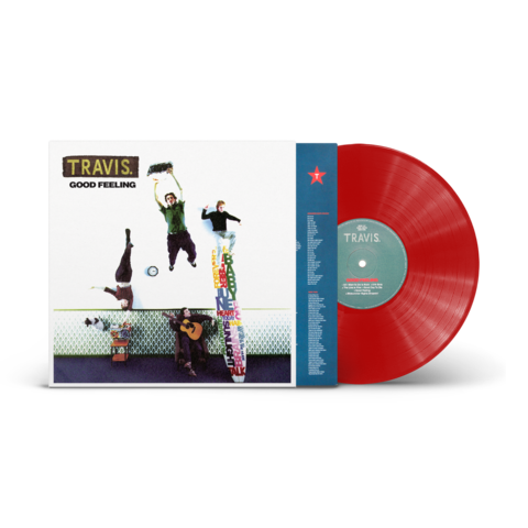 Travis - Good Feeling Limited Edition Indies Exclusive Red Vinyl