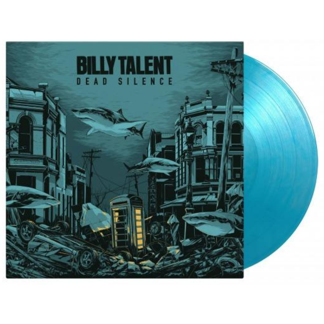 Billy Talent - Dead Silence Limited Edition 2LP Crystal Water Vinyl 3000 Made and Numbered