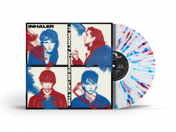 Inhaler - It Won't Always Be Like This Limited Edition Indies Exclusive Red and Blue Splatter Vinyl