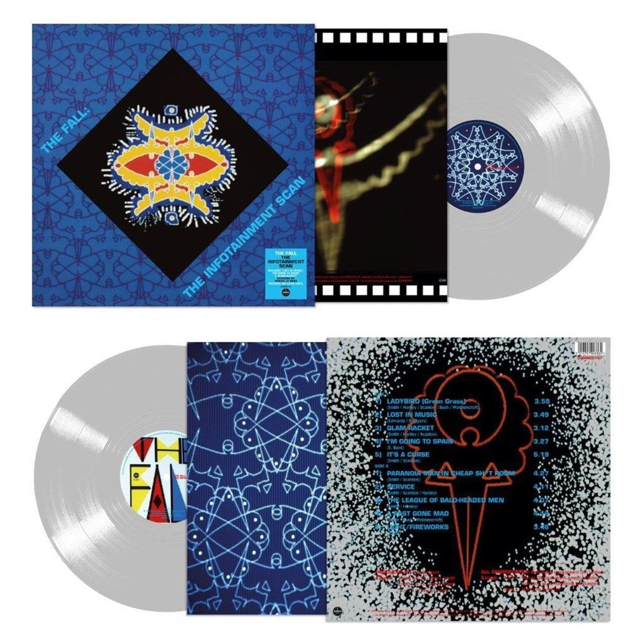 The Fall - The Infotainment Scan Limited Edition Clear Vinyl