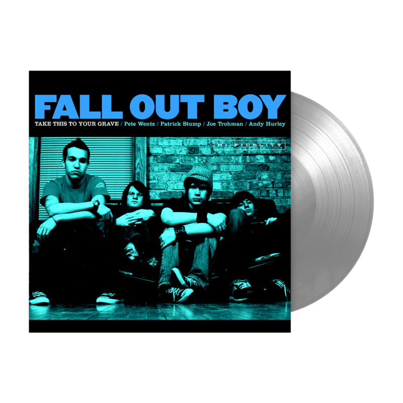 Fall Out Boy - Take This to Your Grave Limited Edition Silver Vinyl