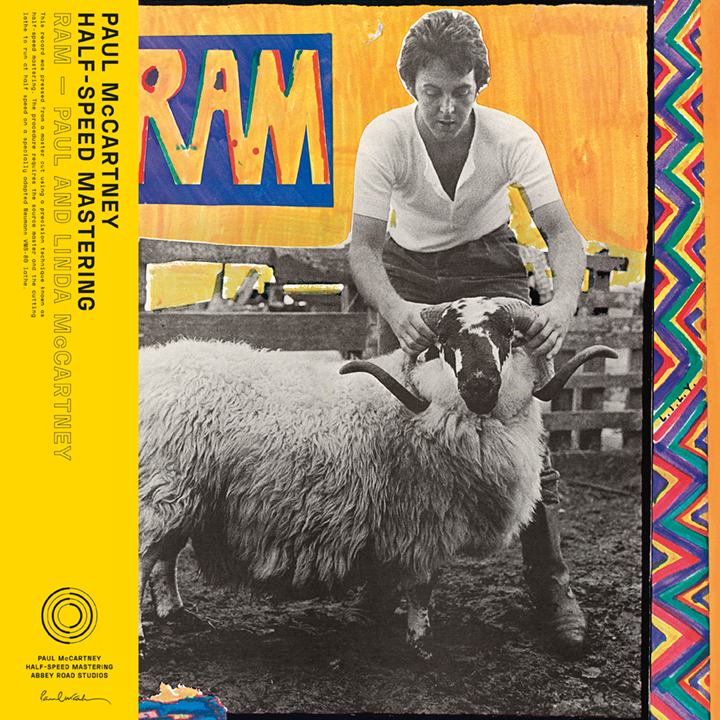 Paul and Linda McCartney - Rams 50th Anniversary Half-Speed Master Edition