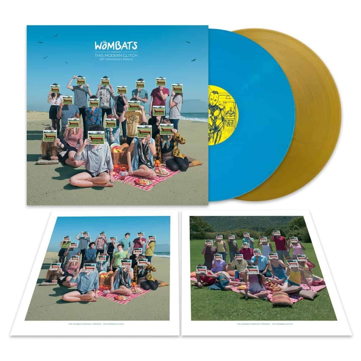 The Wombats - The Wombats Proudly Present... This Modern Glitch 10th Anniversary Edition Sky Blue + Gold Vinyl
