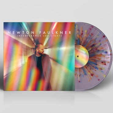 Newton Faulkner - Interference (Of Light) Limited Edition Coloured Splatter Vinyl