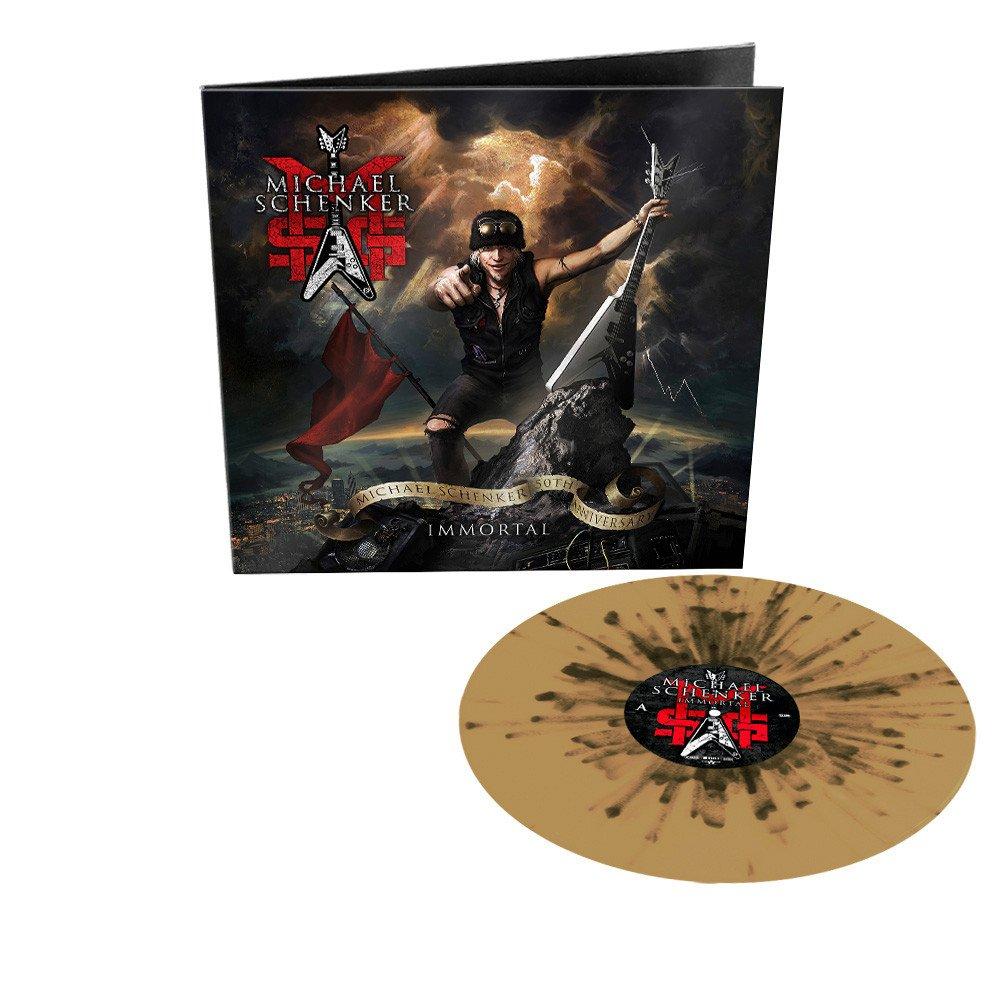 MSG (Michael Schenker Group) - Immortal Limited Edition Gold and Black Splatter Vinyl