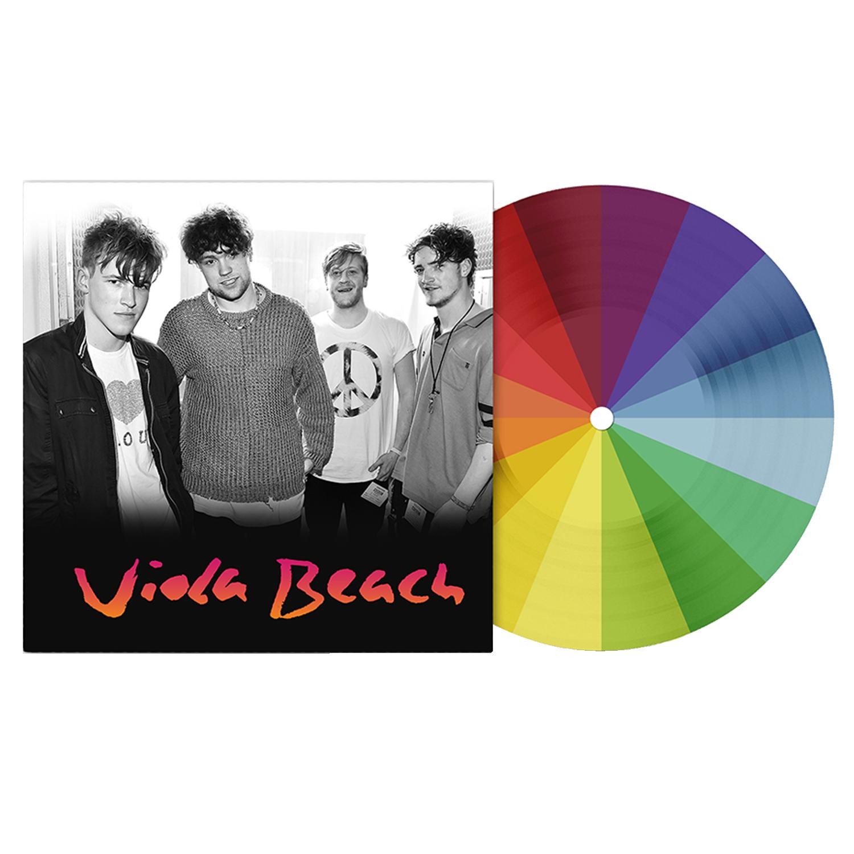 Viola Beach - Viola Beach Limited Edition Rainbow Coloured Picture Disc Anniversary Vinyl