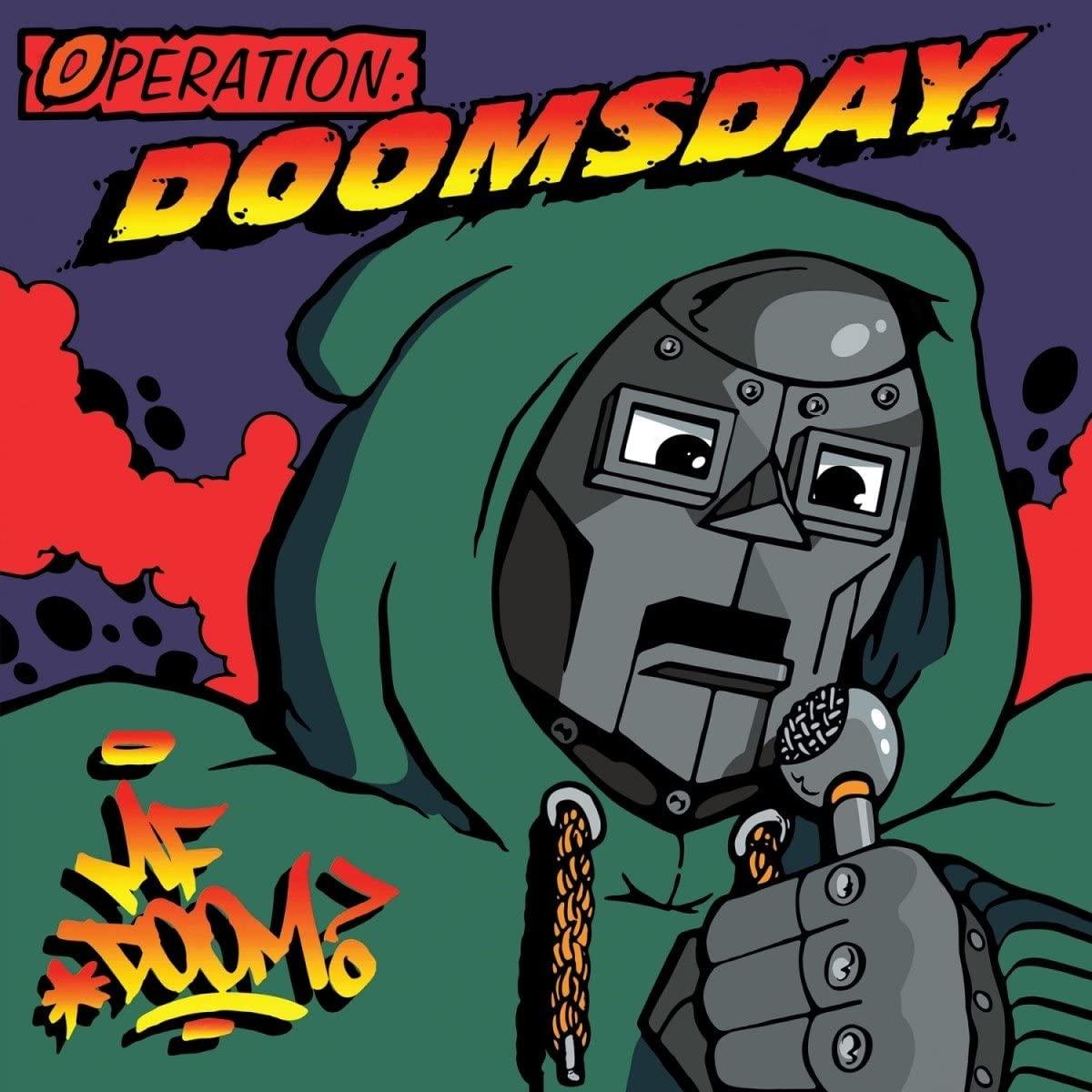 MF Doom - Operation Doomsday Original Cover LTD