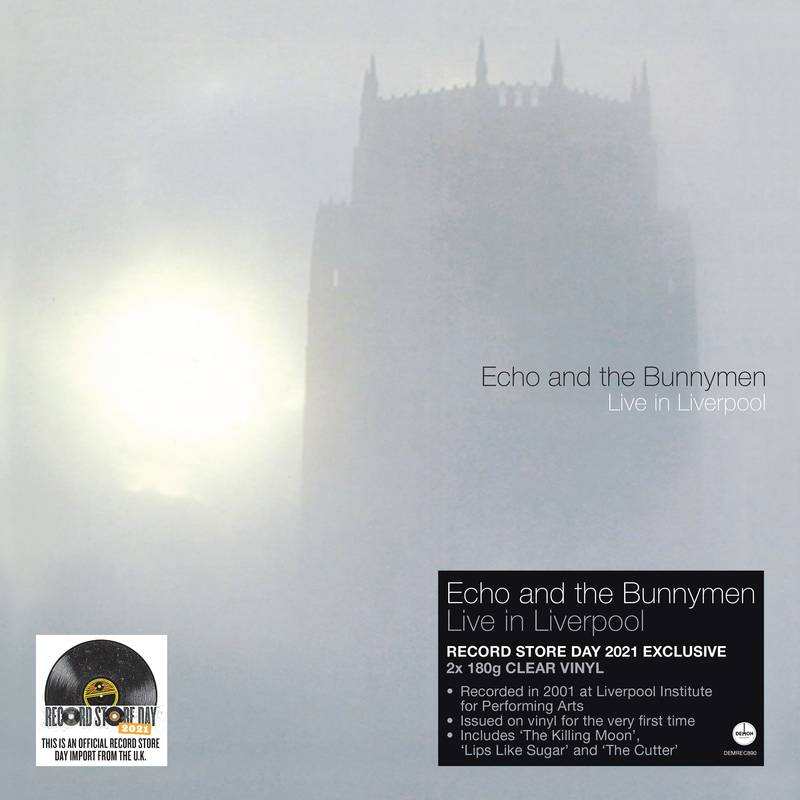 Echo & The Bunnymen - Live In Liverpool (2 x 180g Clear Vinyl)