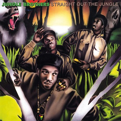 Jungle Brothers - Straight Out Of The Jungle / Black Is Black