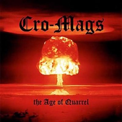Cro-Mags - The Age of Quarrel (Red & Black Spatter LP)