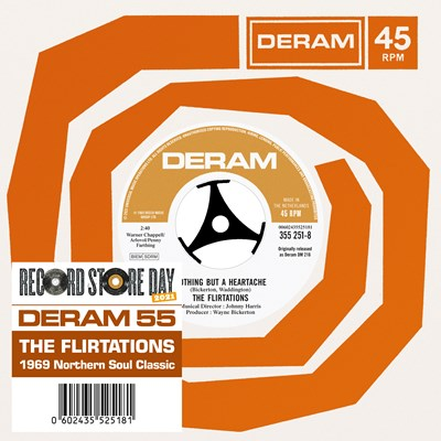 The Flirtations - Nothing But A Heartache' b/w 'Need Your Loving'