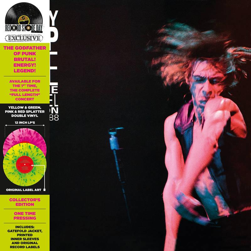 Iggy Pop - Live at the channel boston (pink + yellow splatter vinyl) (rsd 2021)