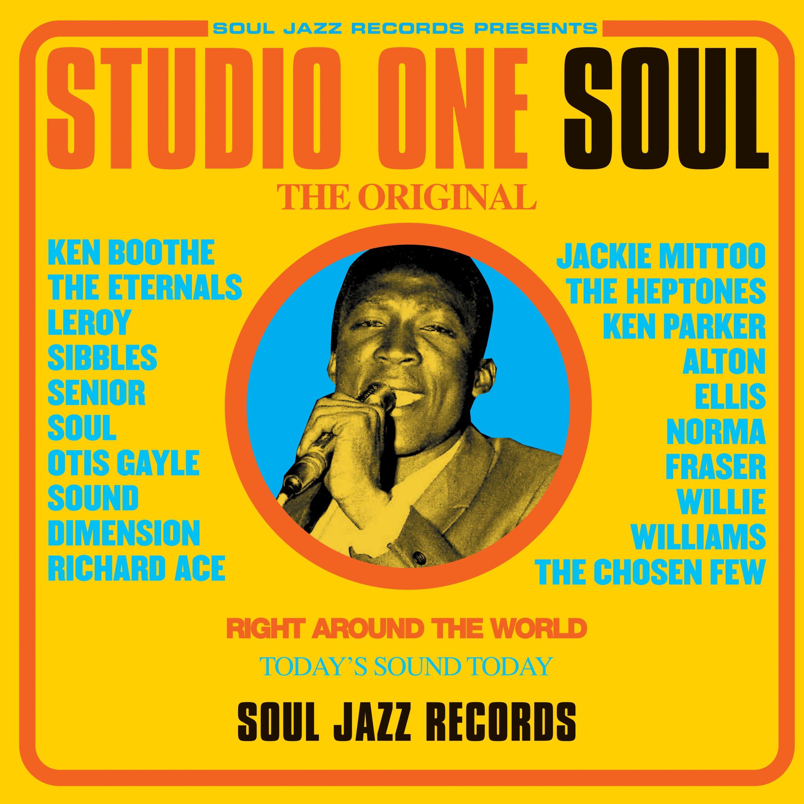 """Soul Jazz Records Presents - Studio One Ska Fire! Collectors 7"""" Box Set"""