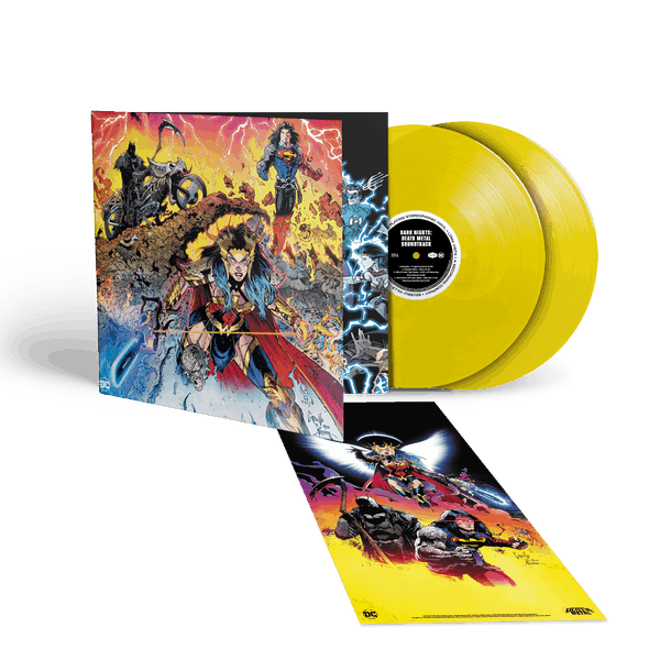 Various Artists - Dark Nights: Death Metal Limited Edition Indies Only 2LP Yellow Vinyl