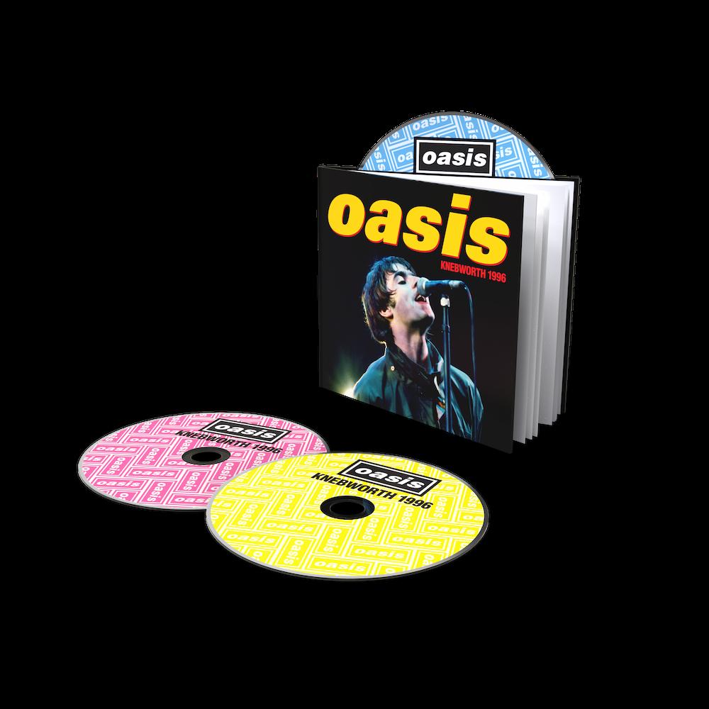 Oasis - Knebworth 1996 2CD + DVD Bookpack