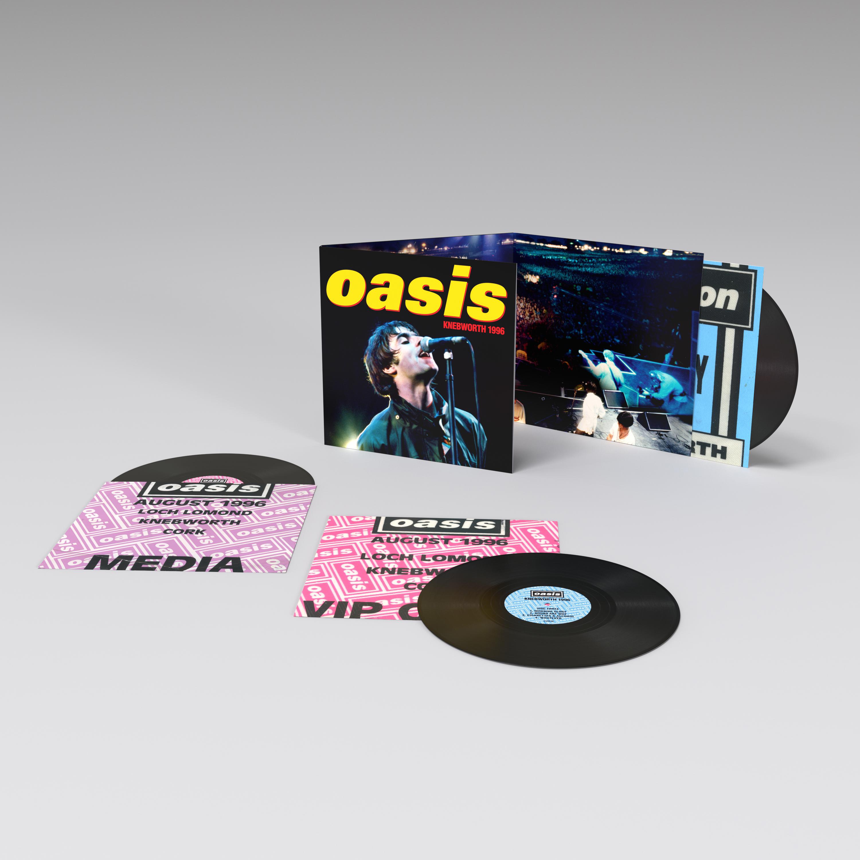 Oasis - Knebworth 1996 3LP