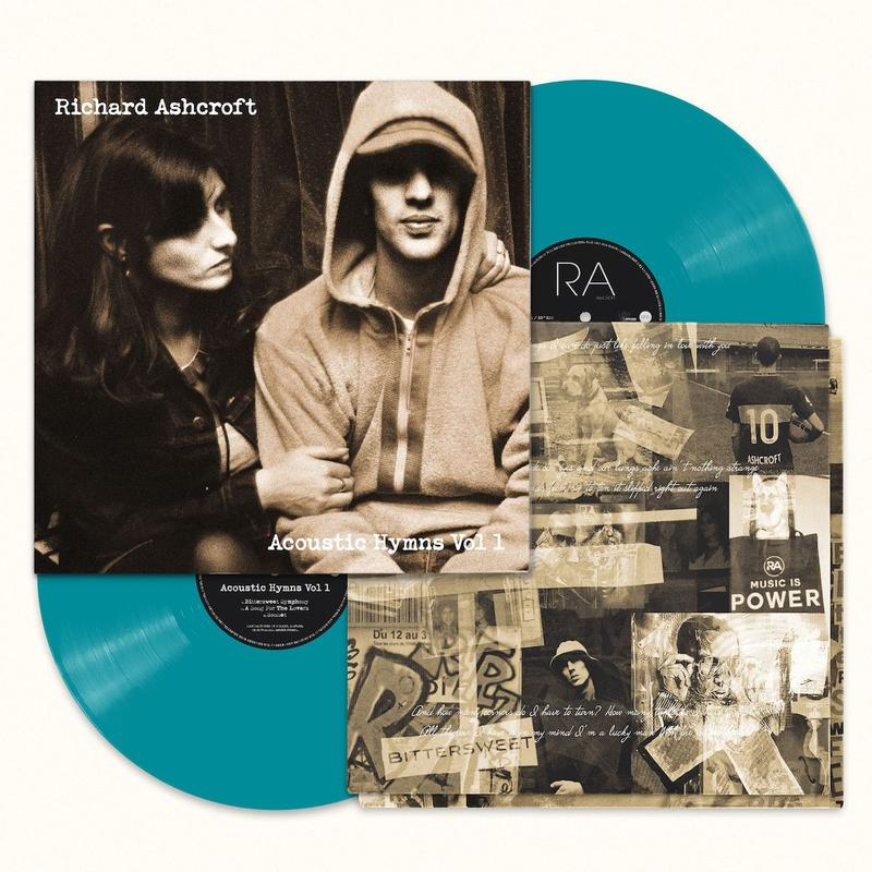 Richard Ashcroft - Acoustic Hymns Vol 1 Limited Edition RSD Stores Only Turquoise 2LP