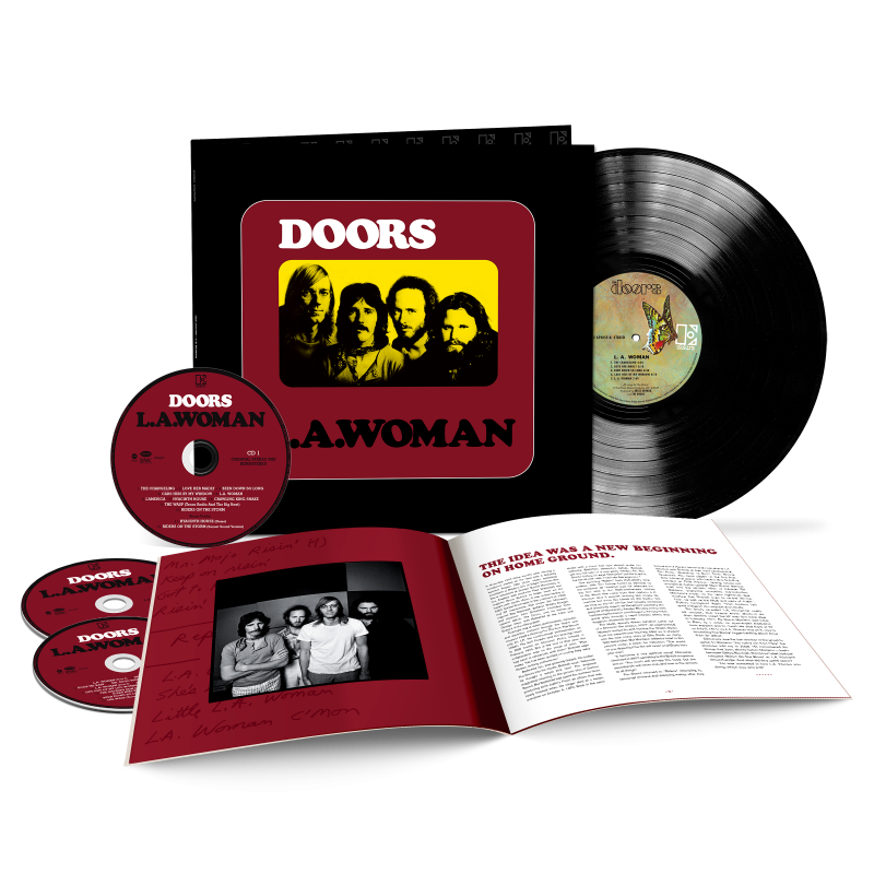 The Doors - L.A. Woman 50th Anniversary Deluxe Edition 3LP + CD