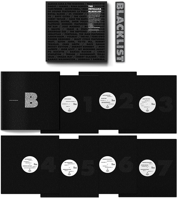 Metallica - The Metallica Blacklist Limited Edition 7LP Box Set