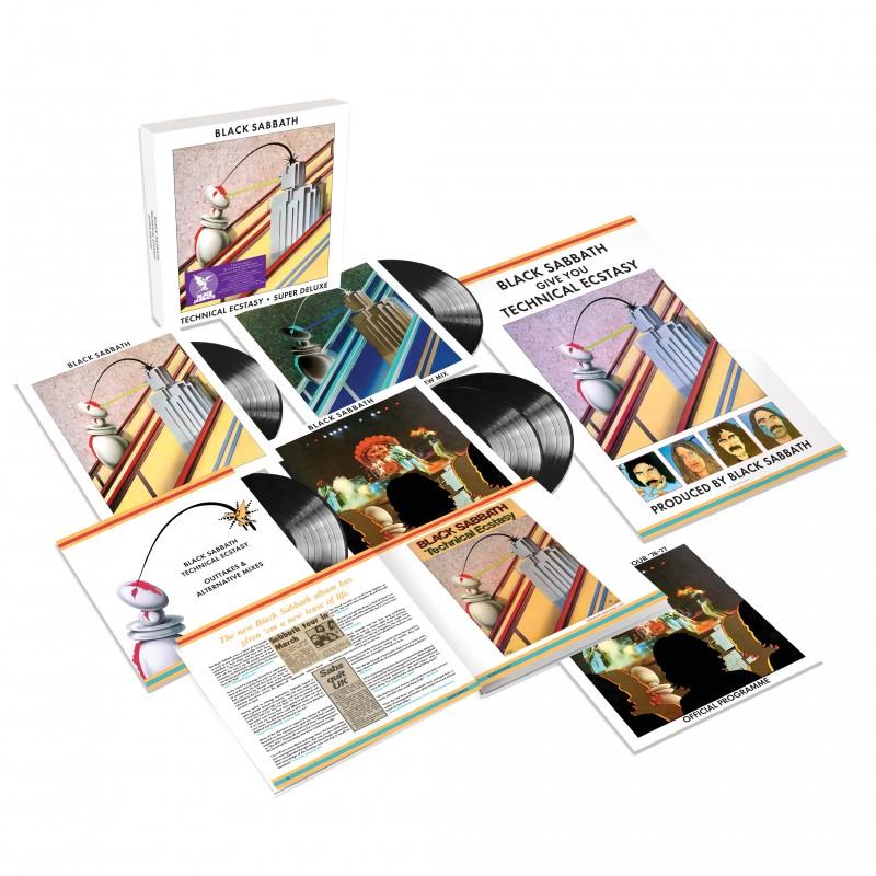 Black Sabbath - Technical Ecstasy Super Deluxe Edition 5LP