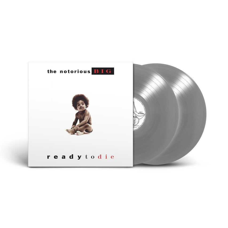 The Notorious BIG - Ready To Die Limited Edition RSD Stores Exclusive Silver 2LP