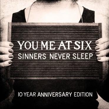 You Me At Six - Sinners Never Sleep 10th Anniversary Vinyl