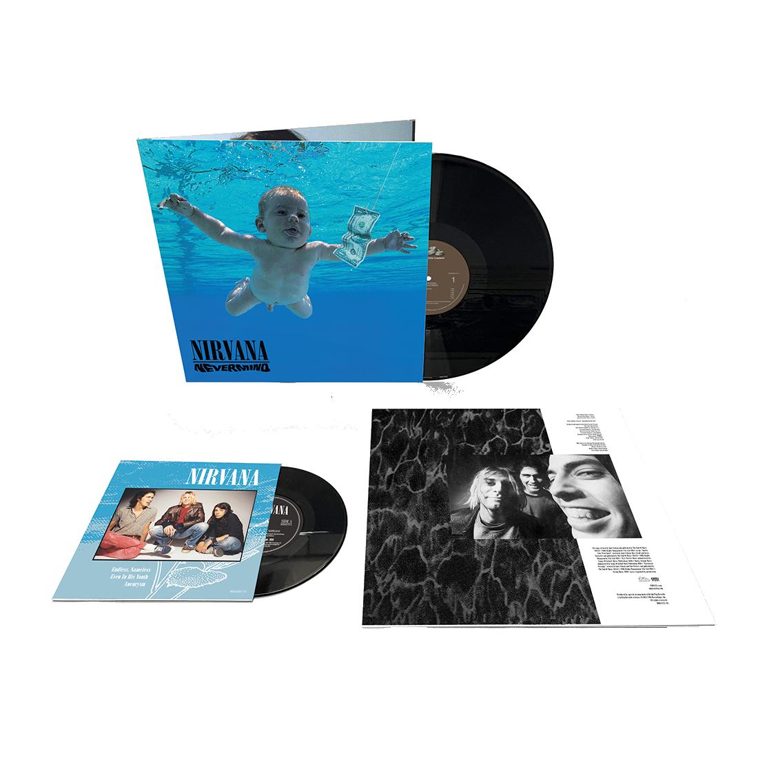 "Nirvana - Nevermind 30th Anniversary Edition Vinyl + 7"""