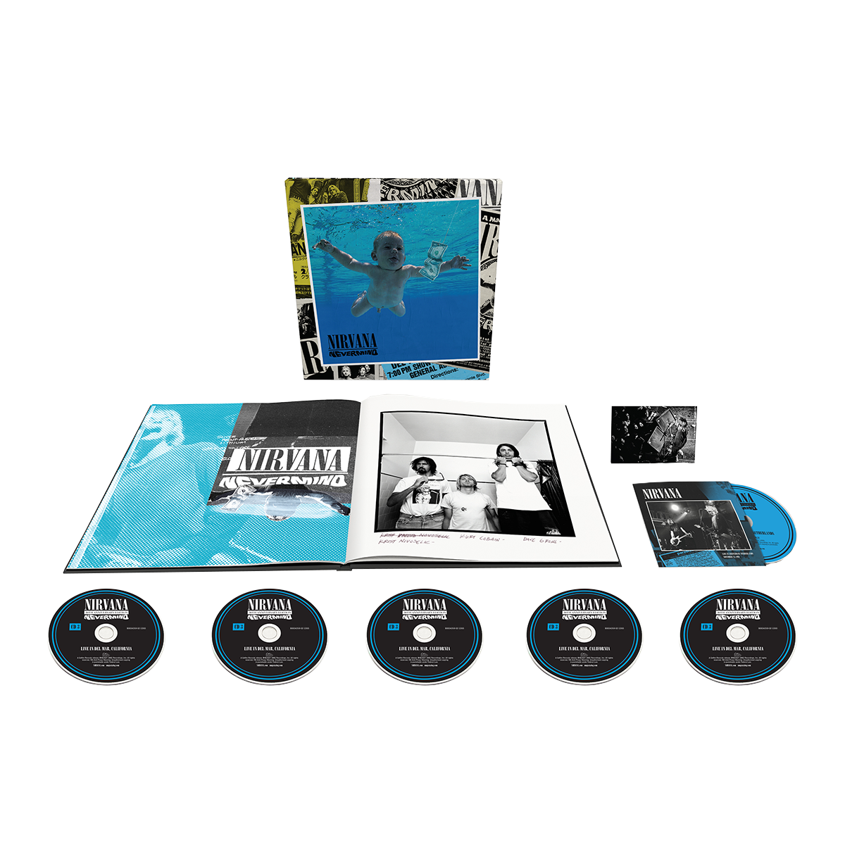 Nirvana - Nevermind 30th Anniversary Edition 5CD + Blu Ray + 40 Page Booklet