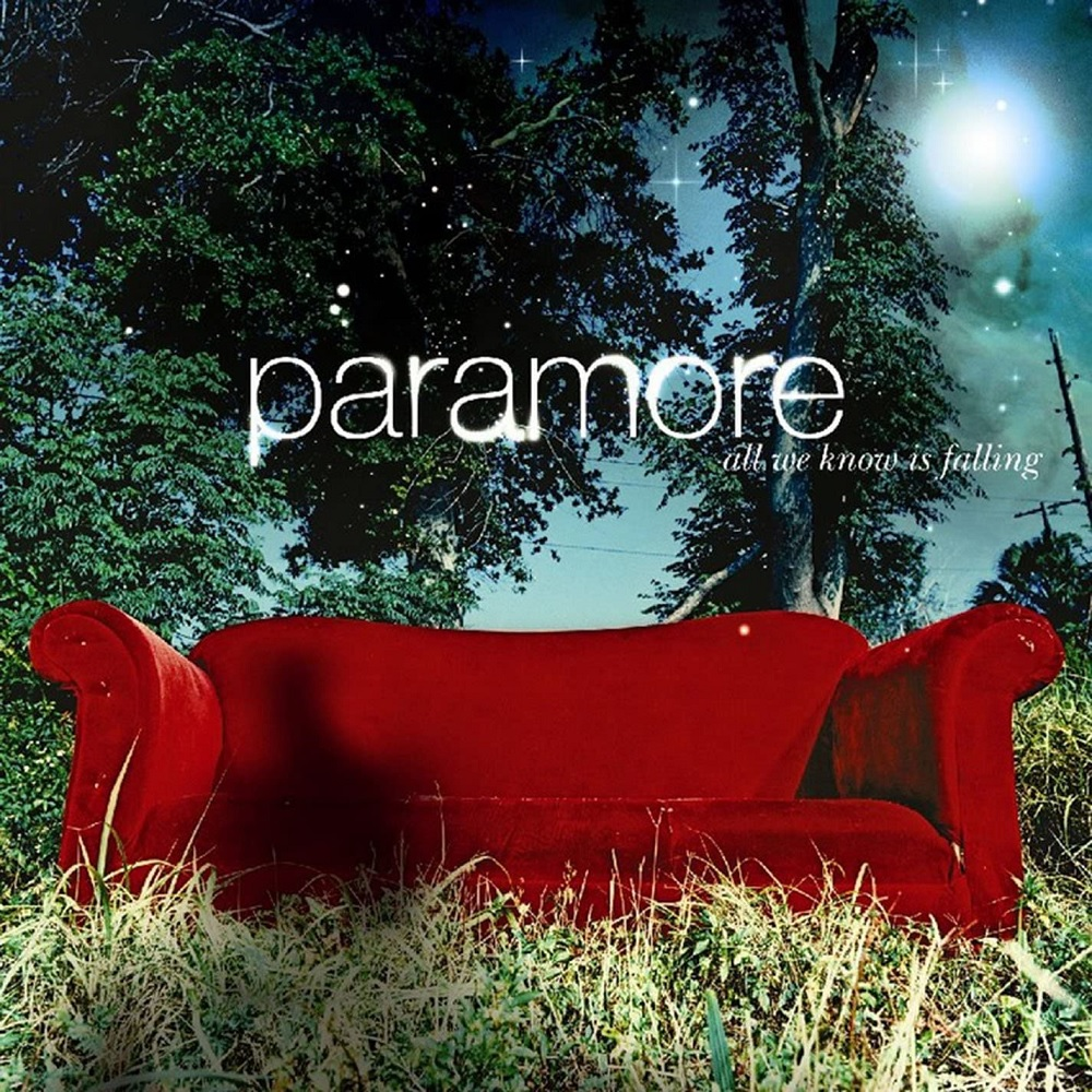 Paramore - All We Know Is Falling Limited Edition Silver Vinyl