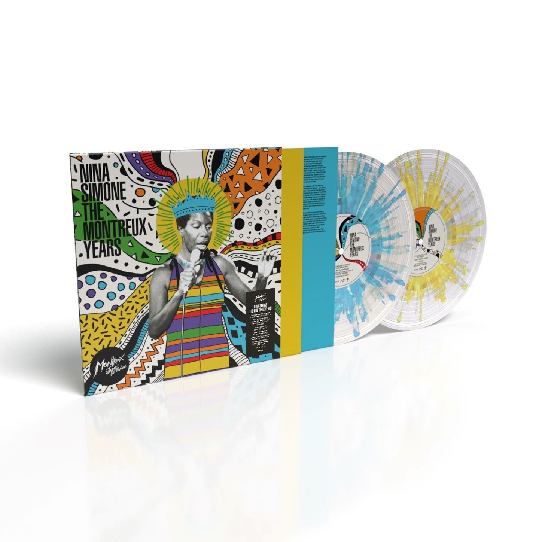 Nina Simone - Nina Simone: The Montreux Years Limited Edition Turquoise/Yellow/White Splatter Vinyl
