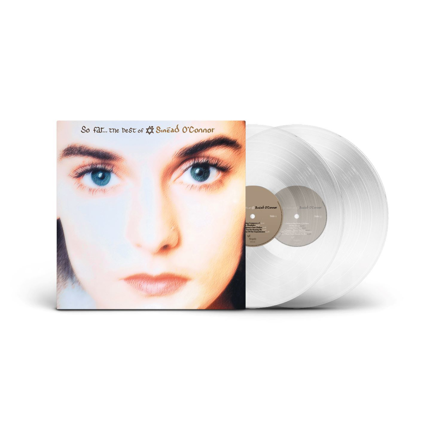 Sinead O'Connor - So Far...The Best Of Limited Edition Clear Vinyl