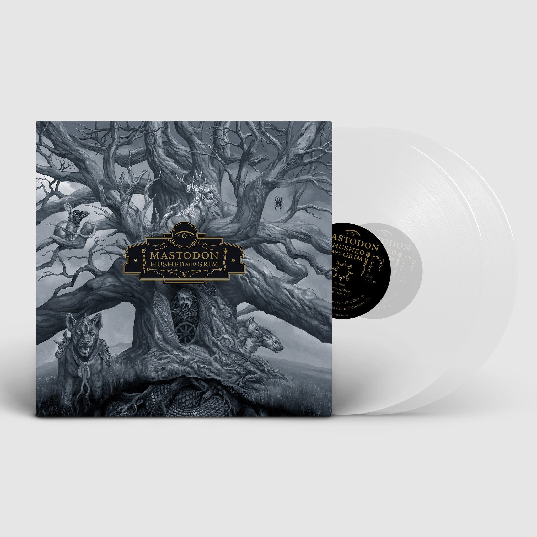 Mastodon - Hushed and Grim Limited Edition RSD Stores 2LP Clear Vinyl