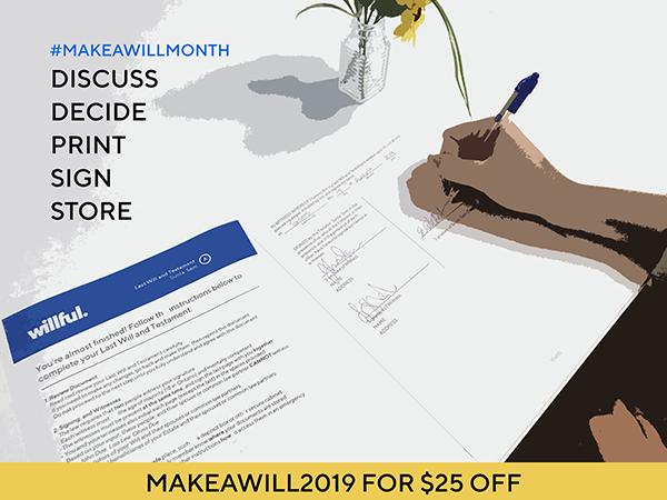 Make a Will Month