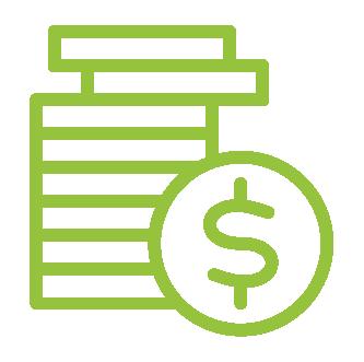 Tech savings icon