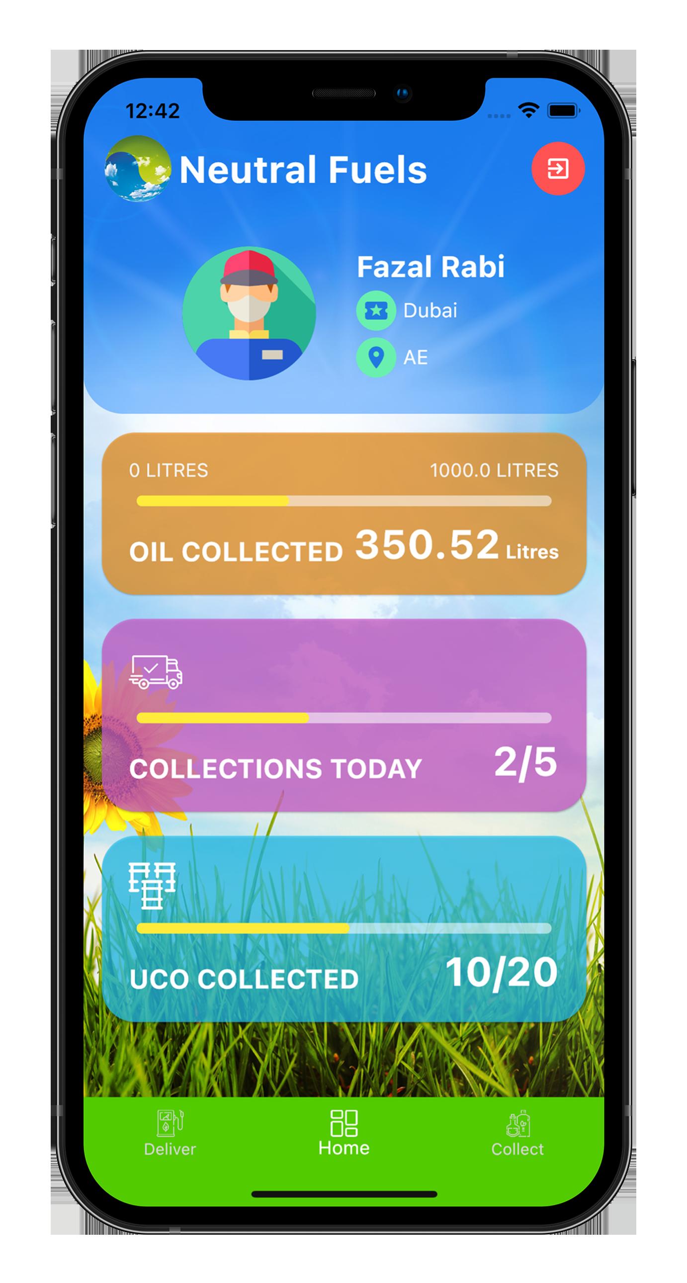 iFuel app screenshot