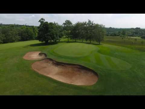 Cowdray Estate Golf Course 18 Hole Interactive Drone Flyover
