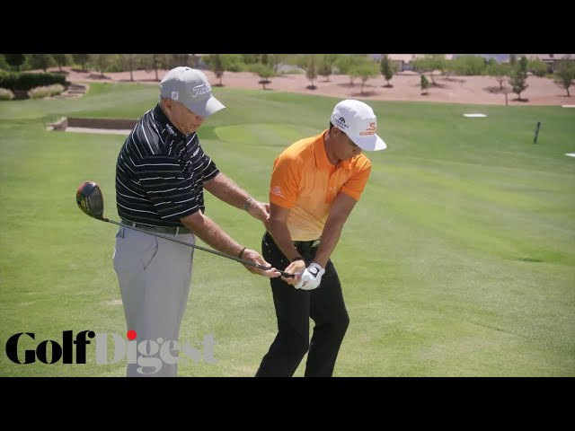 Rickie Fowler on How To Fix Your Drive Slice | Golf Lessons | Golf Digest