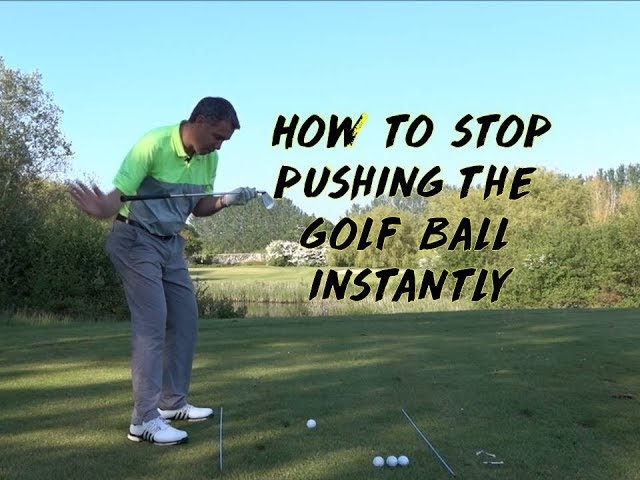 How to Stop Pushing the Ball