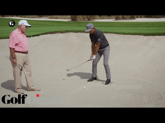 The Sand Man with Rickie Fowler and Butch Harmon | Golf Digest