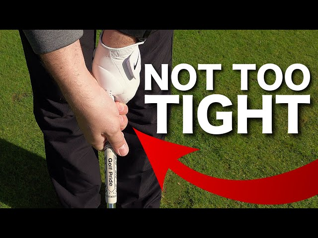 HOW TO HOLD A GOLF CLUB CORRECTLY