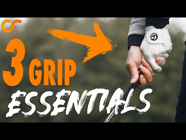 3 GOLF GRIP ESSENTIALS