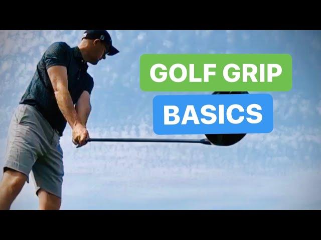 BASIC GOLF GRIP LESSON