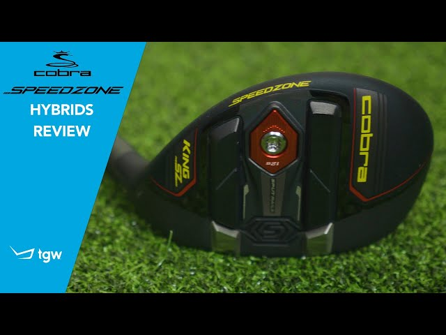 Cobra KING Speedzone Hybrids Review