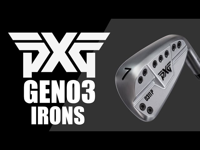 2020 PXG GEN03 Irons tested Average Golfer